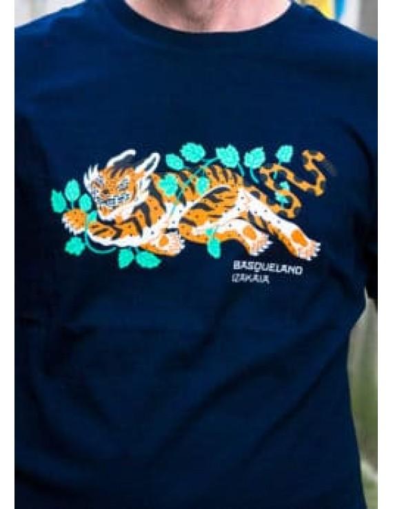 Basqueland T-shirt -Izakaia Hop Tiger-